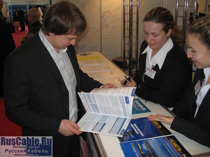 Репортаж о выставке Cabex 2007